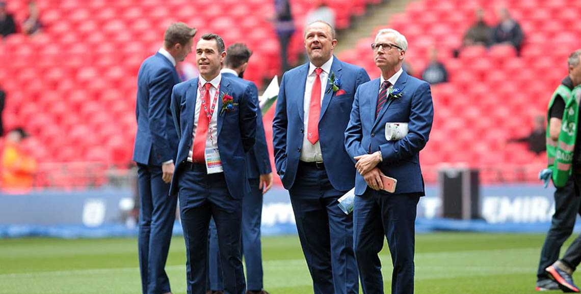 Crystal Palace FC's official tailor, Apsley Bespoke