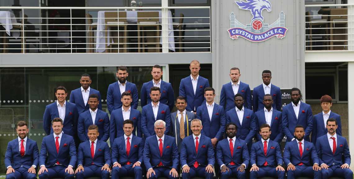 Apsley Tailors dress Crystal Palace for FA Cup success