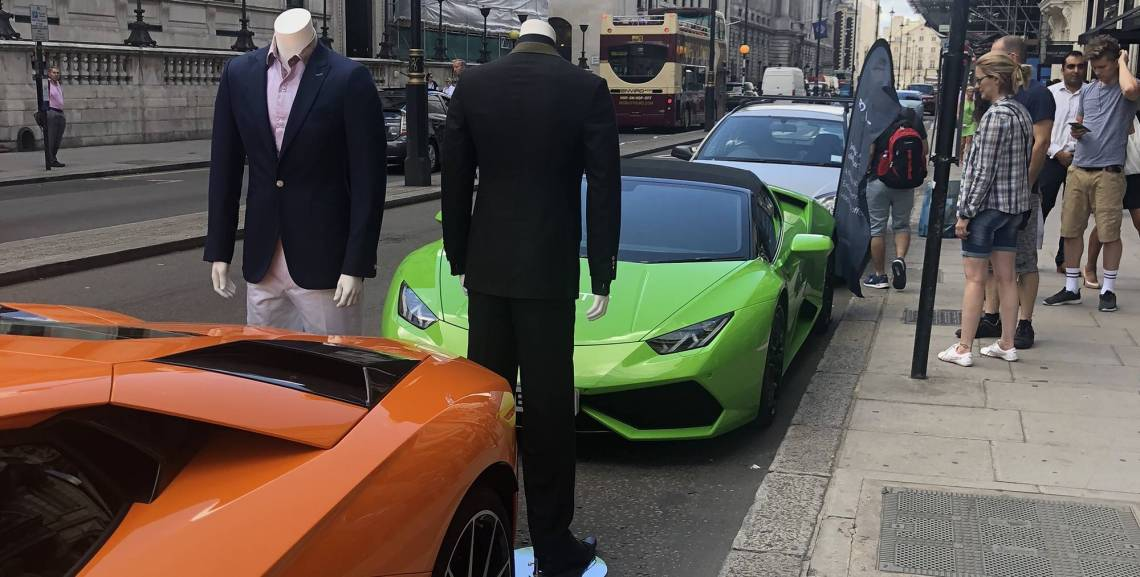Lamborghini Lunch