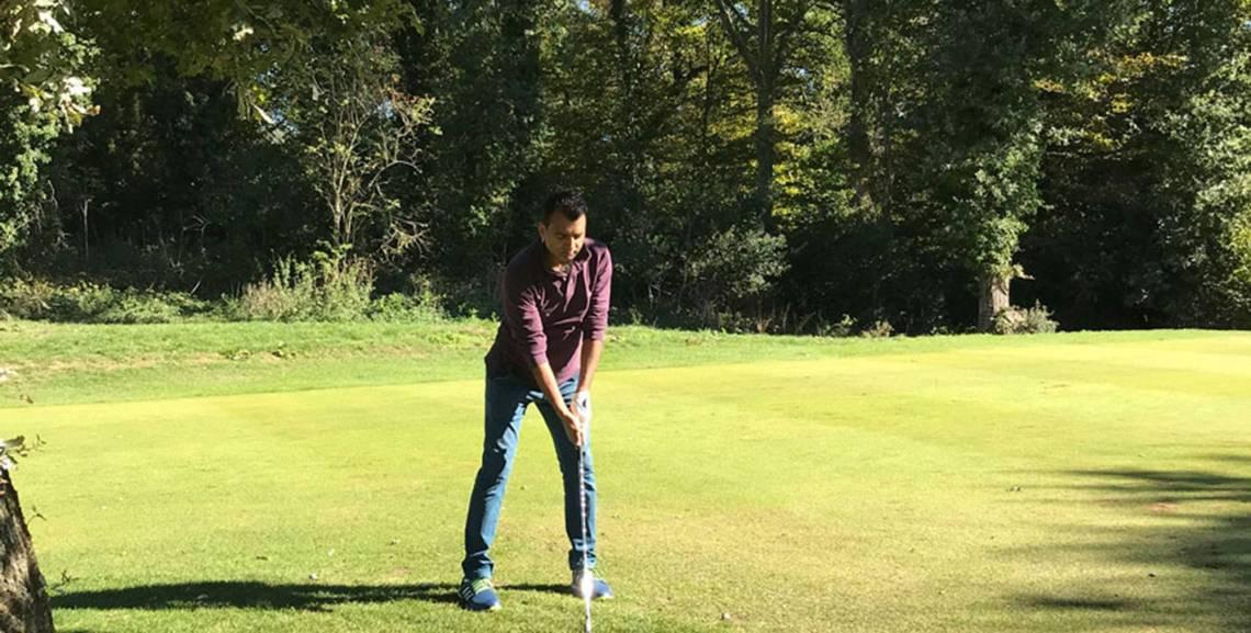 Master Tailor Arshad at Denham Golf Club