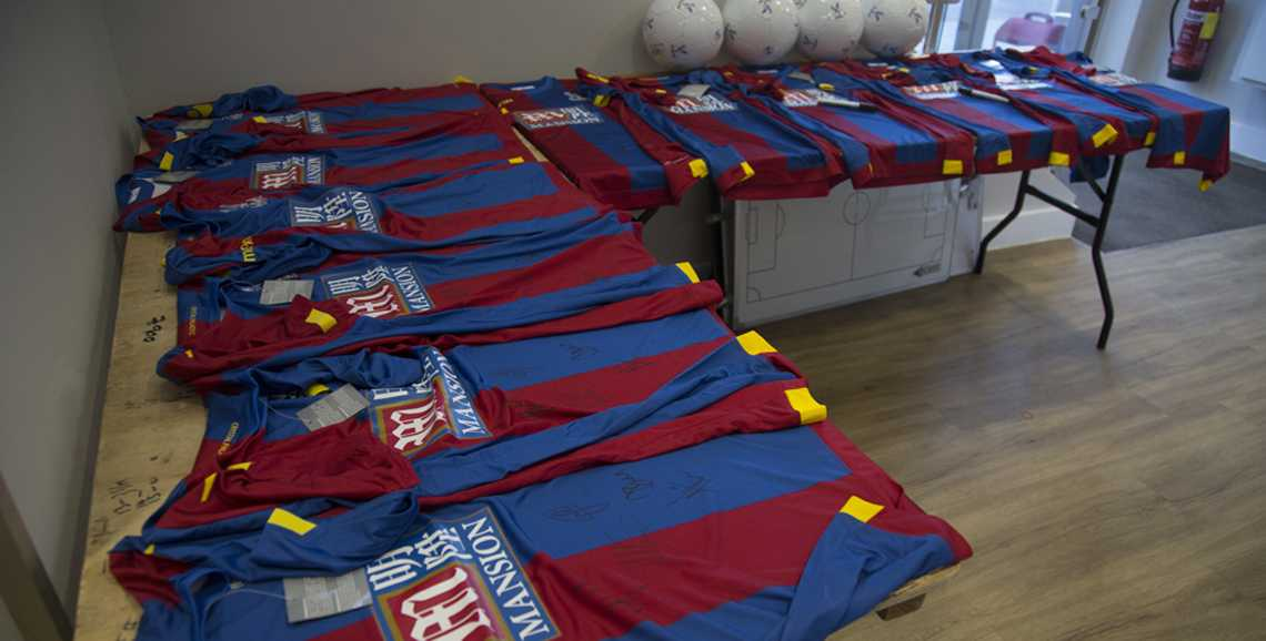 Apsley Tailors was dressing the Crystal Palace FC team for their biggest match