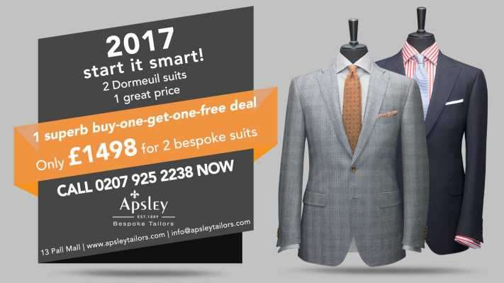 2 Dormeuil suits 1 great price