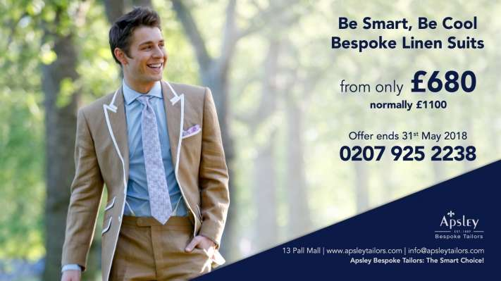 Be Smart, Be Cool Bespoke Linen Suits