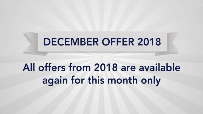 December Offer 2018